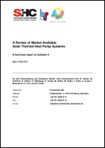 A Review of Market-Available Solar Thermal Heat Pump Systems